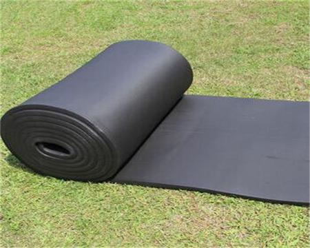 现货供应吸音保温橡塑板 国标b1级橡塑保温板 铝箔橡塑板3mm