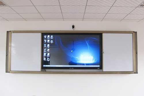 智慧教室推拉式白板的特点及优势
