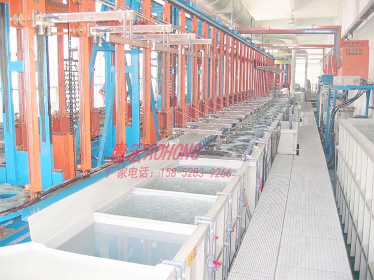 无锡奥宏环保 全自动环形垂直升降电镀设备