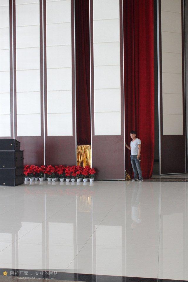 坪山会展中心移动屏风活动隔断墙  深圳赛勒尔65型活动隔断推拉门