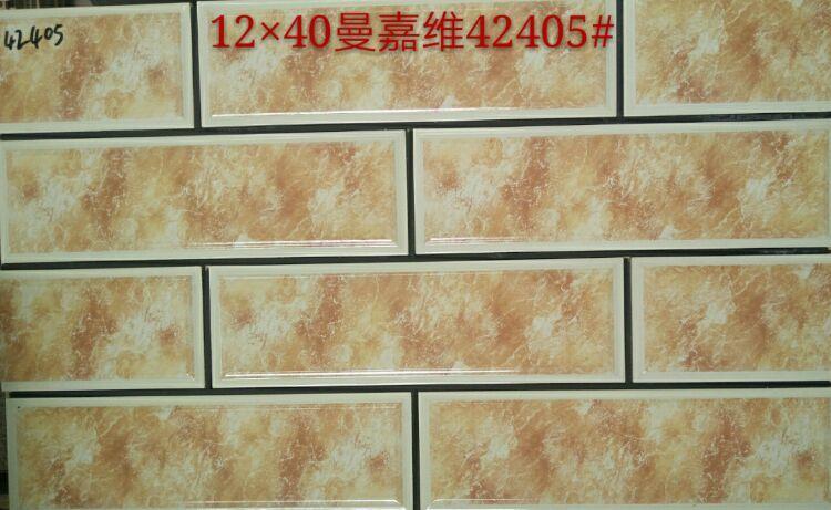 120乘400喷墨外墙砖批发,河南外墙砖厂家