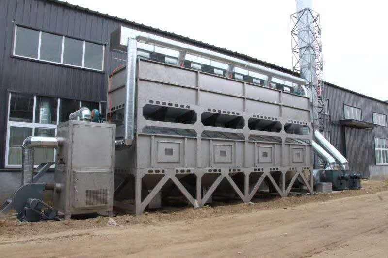 家具厂voc废气处理设备rco催化燃烧设备有效处理喷涂废气