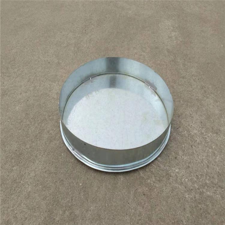 東莞工業廢氣處理設備螺旋風管廠家專業生產白鐵封尾