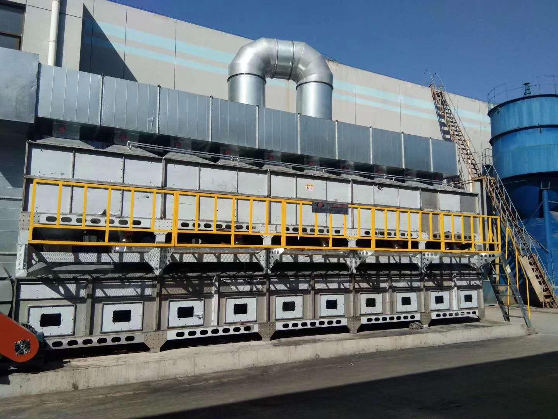 有机废气处理设备蓄热式催化燃烧法脱附温度