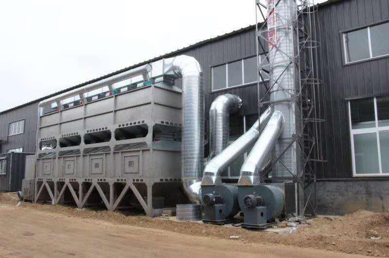 voc废气处理设备催化燃烧室几大组成部分及功用