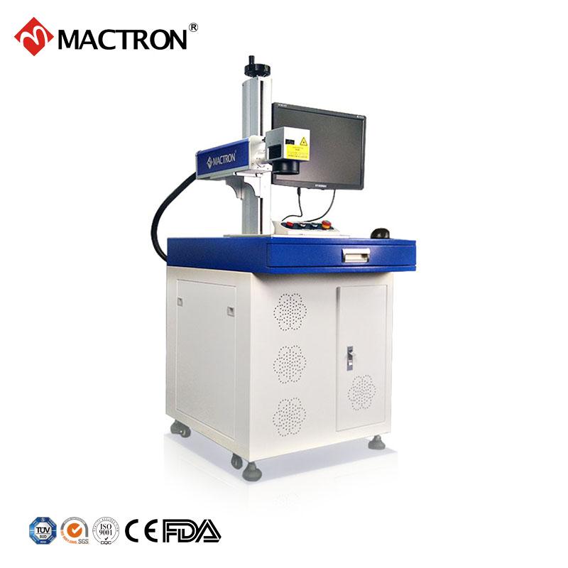 为什么说光纤激光打标更适于金属微加工