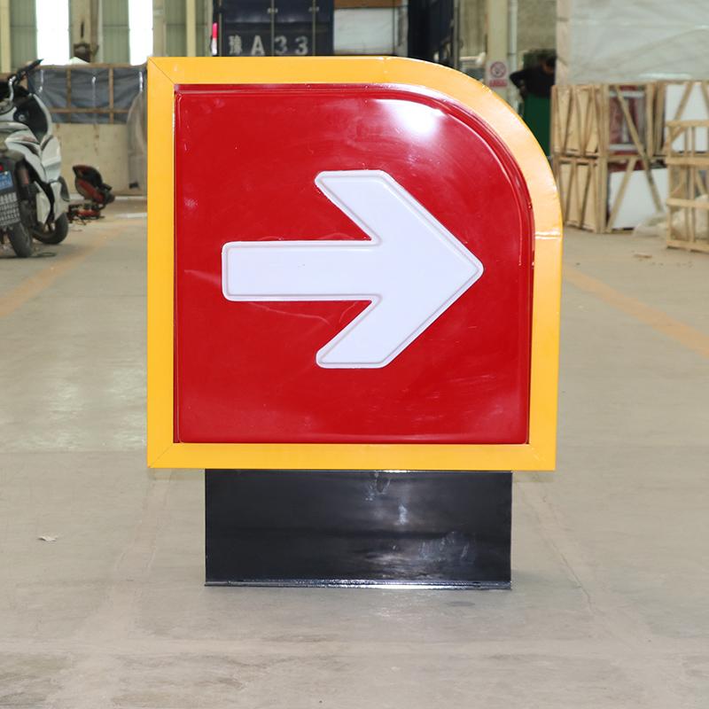 中国石油加油站进出口出入口指示灯箱加油促销用品标识加油站设备