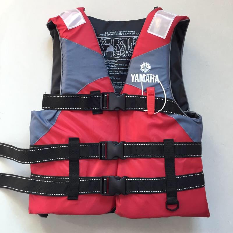 雅马哈救生衣 水域救援浮力马甲 皮划艇龙舟救援背心