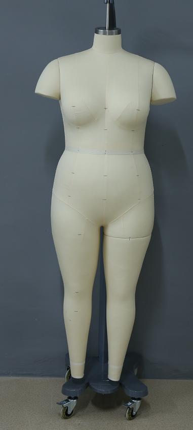 上海标准体型打版公仔,上海立体试衣人台