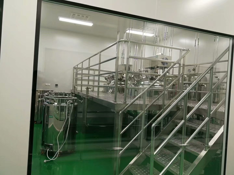 潯陽區百級十萬級食品飲料無塵車間凈化廠房施工