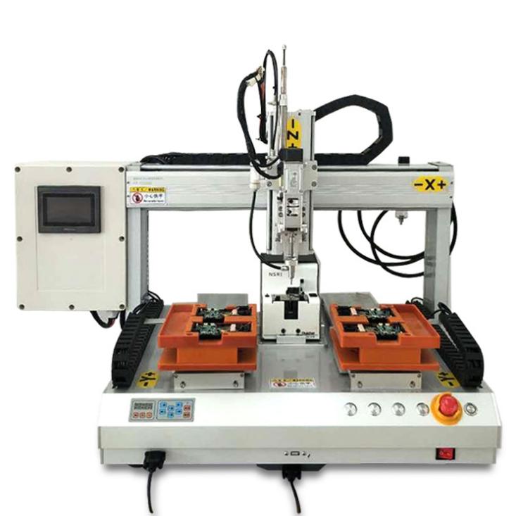 佛山瑞德鑫U盘自动上螺丝机661L线路板排列