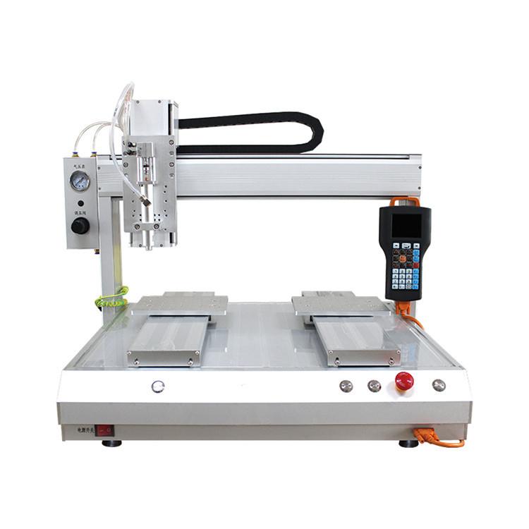 广州瑞德鑫小家电外壳自动点封胶机龙8国际元器件涂胶