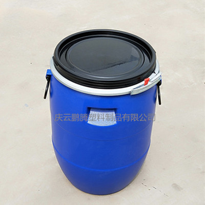 50L塑料桶50公斤鐵箍桶批發