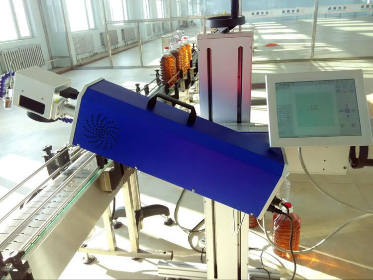 激光喷码机维修_万霆激光喷码机_智能自动标识设备正规厂家