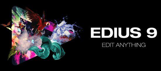 天创华视EDIUS Pro 9非编软件视频剪辑软件雷特小篆字幕键鼠