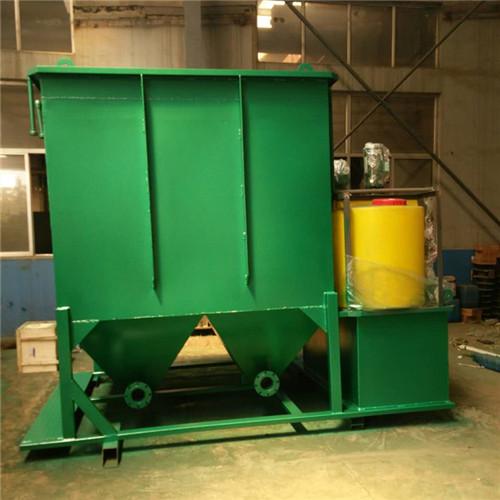小型斜管沉淀器_塑料化工污水处理设备