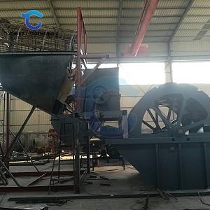 风化砂破碎清洗生产线 洗沙机成套设备