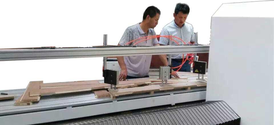 水平侧排钻铣床木工钻铣开槽打卯电脑排钻拉槽铣边开孔
