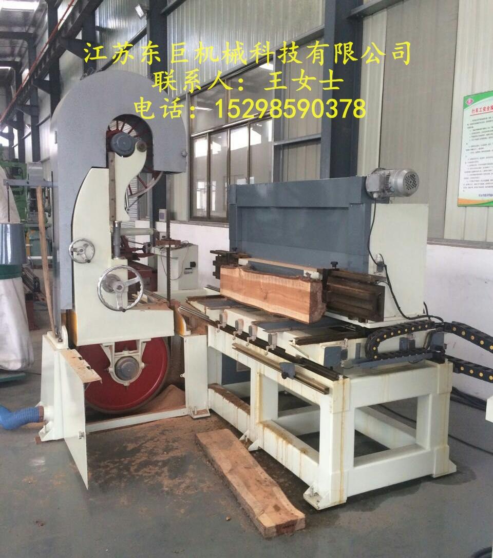 1060木工带锯机江苏东巨MJ3110制板带锯跑车出售