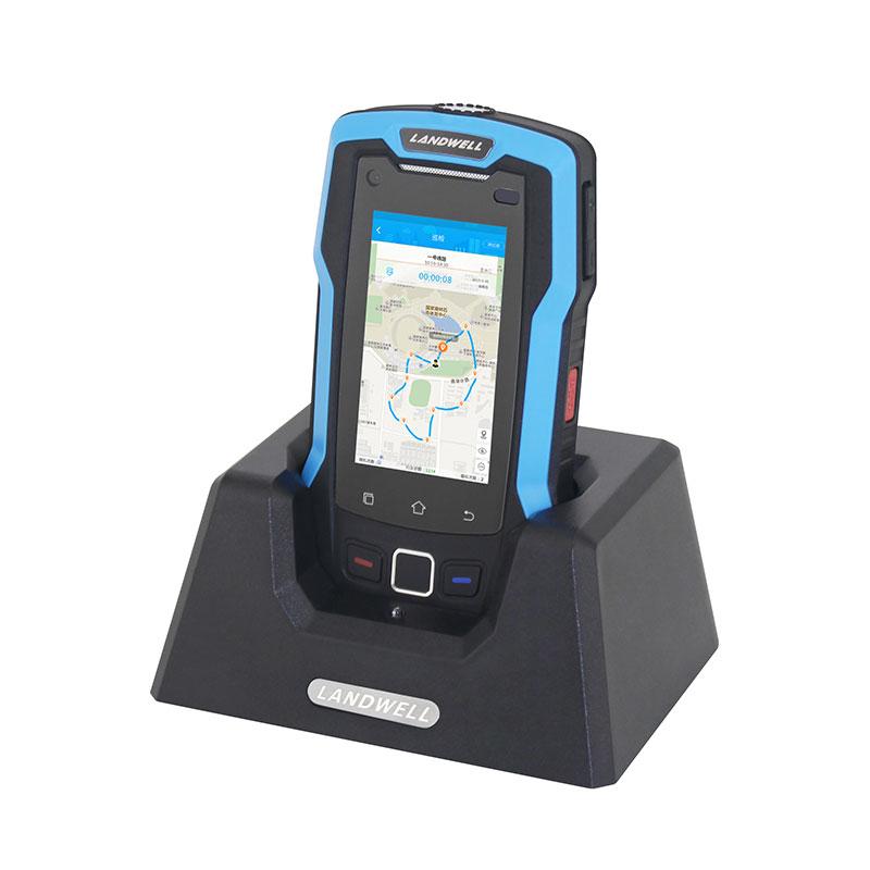 手机实时巡更一键紧急报警轨迹回放兰德华智能巡更系统