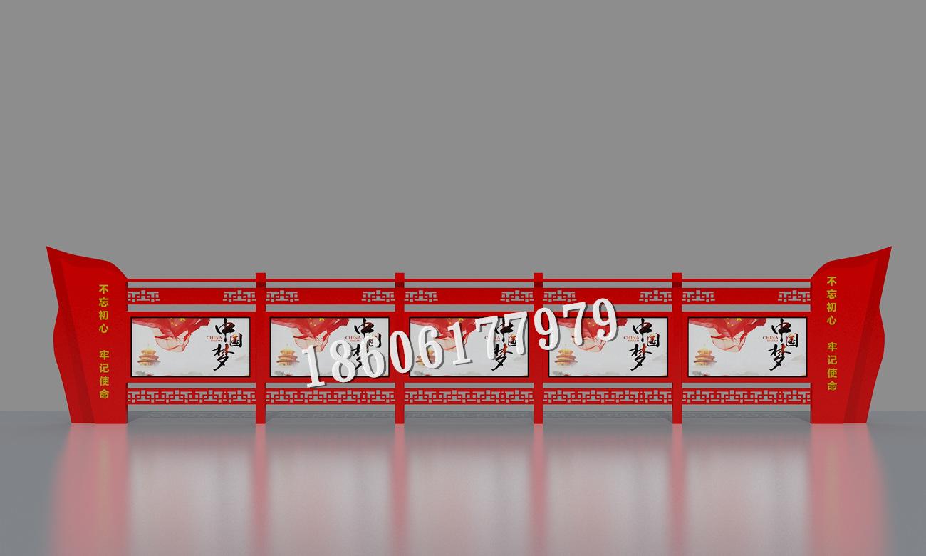 黑龙江双鸭山医院宣传栏定制,佳木斯司法局木头文化长廊宣传栏厂家