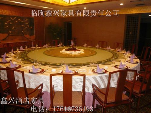 厂家供应酒店圆桌饭店宴会台桌婚庆圆桌餐厅方形桌