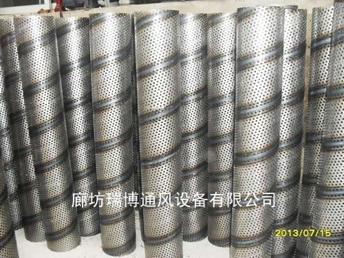 压液滤清器螺旋网卷圆机 螺旋厚板冲孔中心管卷圆机