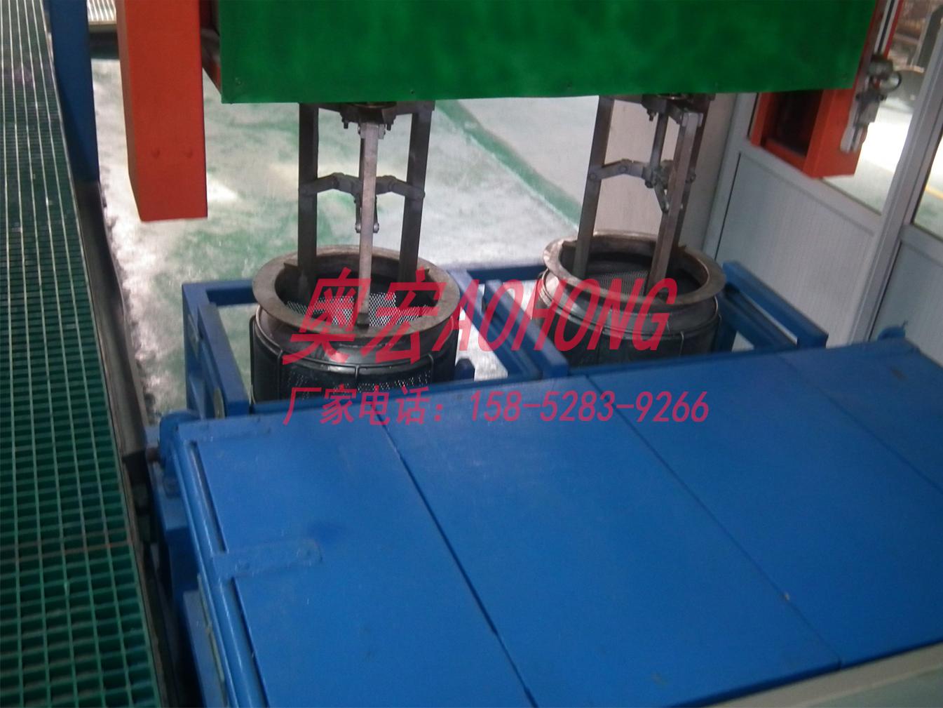 全自动电镀黑锌机械手钝化设备 生产线 奥宏环保