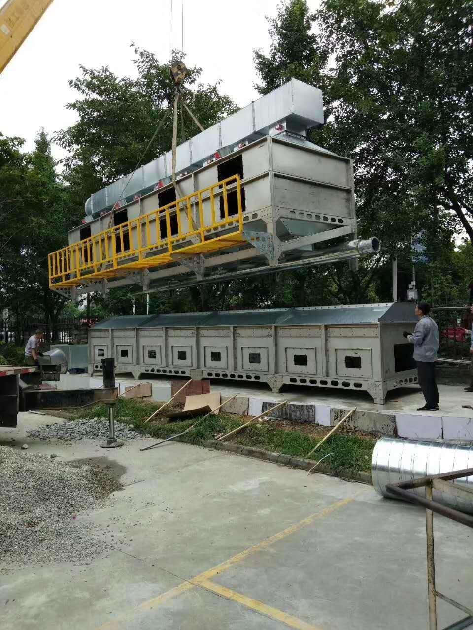 嘉特纬德加工定做家具厂喷漆废气处理设备rco催化燃烧设备