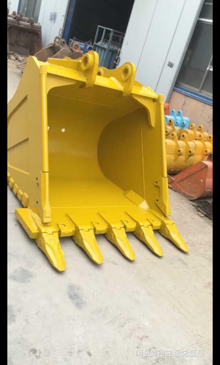 小松pc56-7挖掘机0.22铲斗挖斗