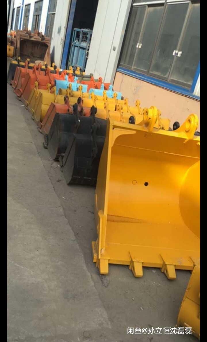小松pc70-8挖掘机0.37立方铲斗挖斗