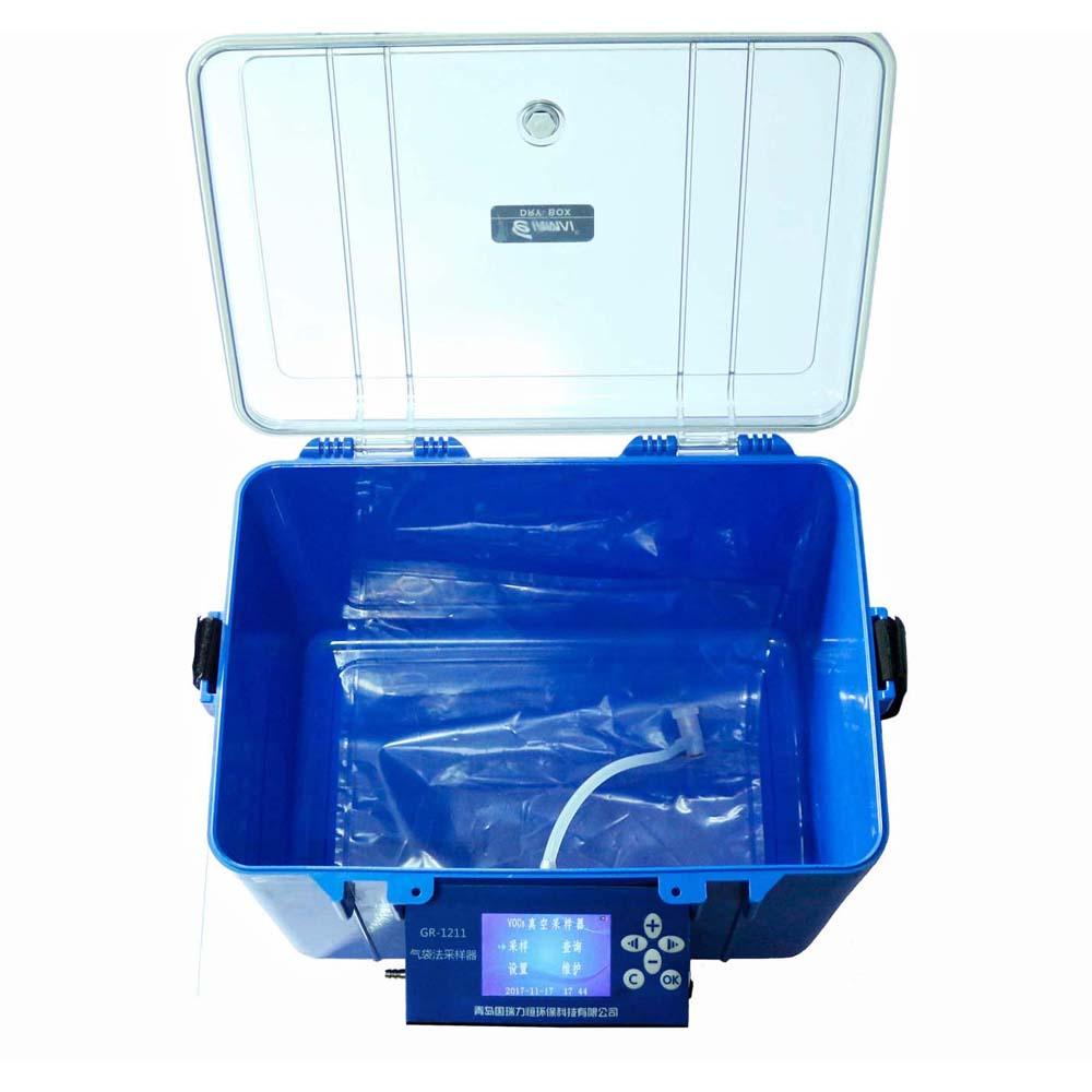 青島國瑞廠家直銷 氣袋法采樣器 真空箱采樣器 揮發性鹵代徑氣袋采樣器