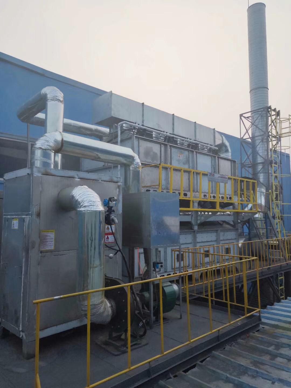 voc废气处理设备选用嘉特纬德rco催化燃烧法