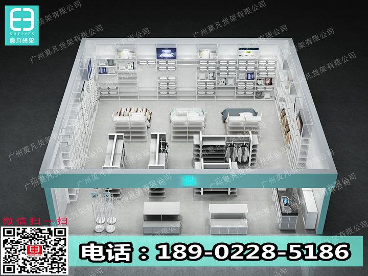 广州诺米货架的实用性,诺米货架,NOME家居店货架,伶俐货架,三福货架
