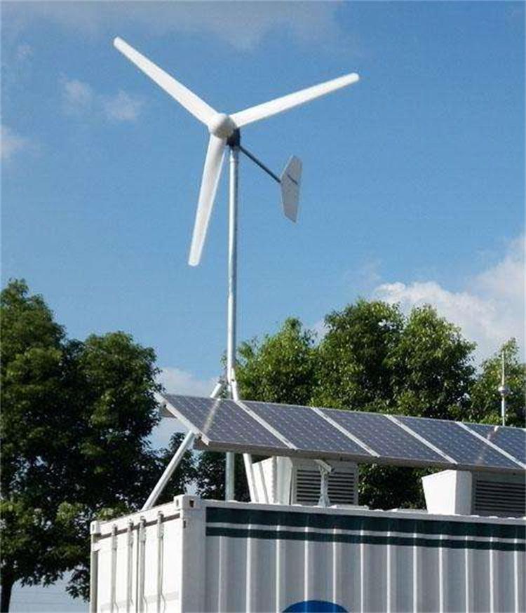 1千瓦风力交流发电机 风力发电机家用220v1000w楼顶安装发电