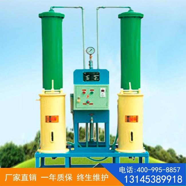 全自動軟化水設備使用過程