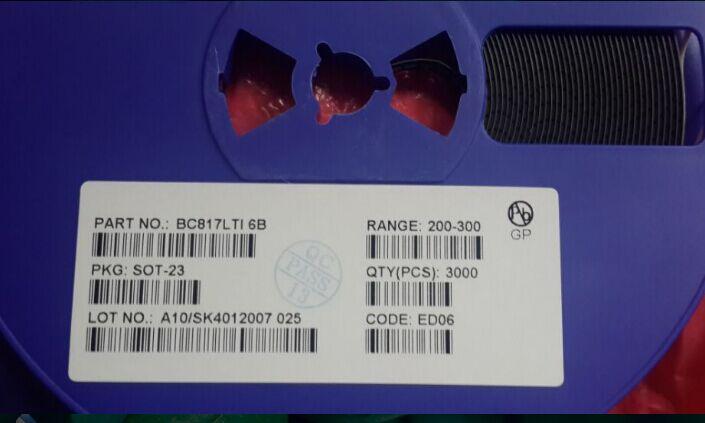 BC817 SOT-23贴片三极管厂家优势现货