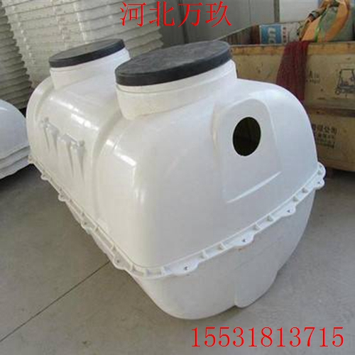 新疆家用小型化粪池 【万玖加工耐用玻璃钢小型化粪池】耐酸碱