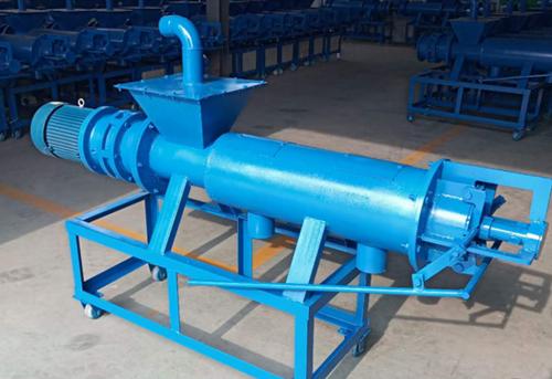 猪场专用固液分离机_鸡粪螺旋挤压式挤干机