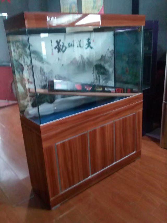 濟南高新奧體中心魚缸以舊換新