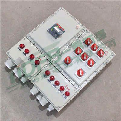 BXMD粉尘防爆配电箱 铝合金防爆配电箱 三防防爆箱