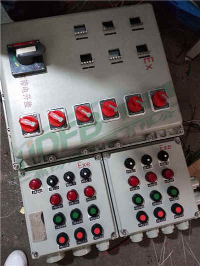 BXK防爆控制箱 防爆操作箱 防爆机旁按钮
