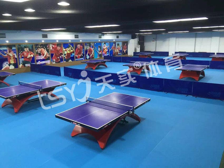 乒乓球幸运石纹地胶 适合室内乒乓球馆使用