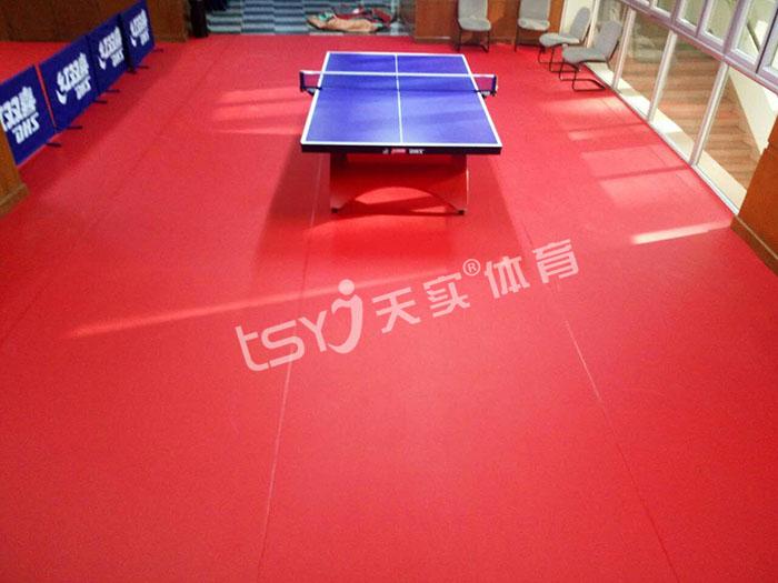 艾力特乒乓球馆专用地胶 产品质量好价格优惠