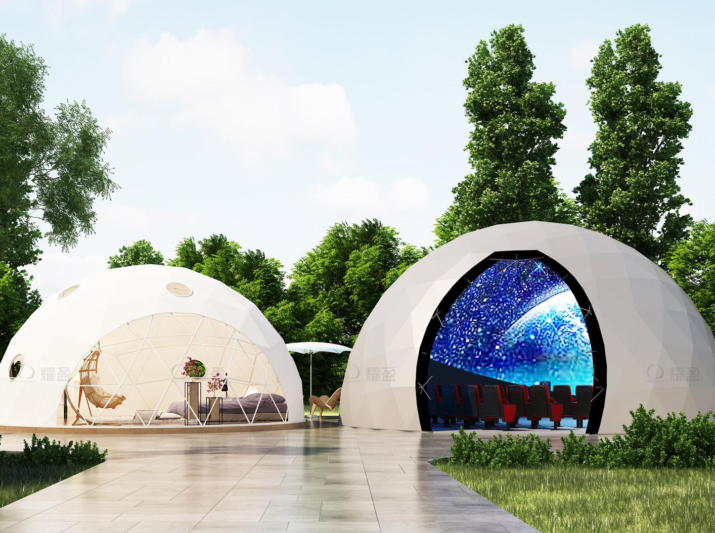 科技館海洋館篷房——耀盈360°體驗館