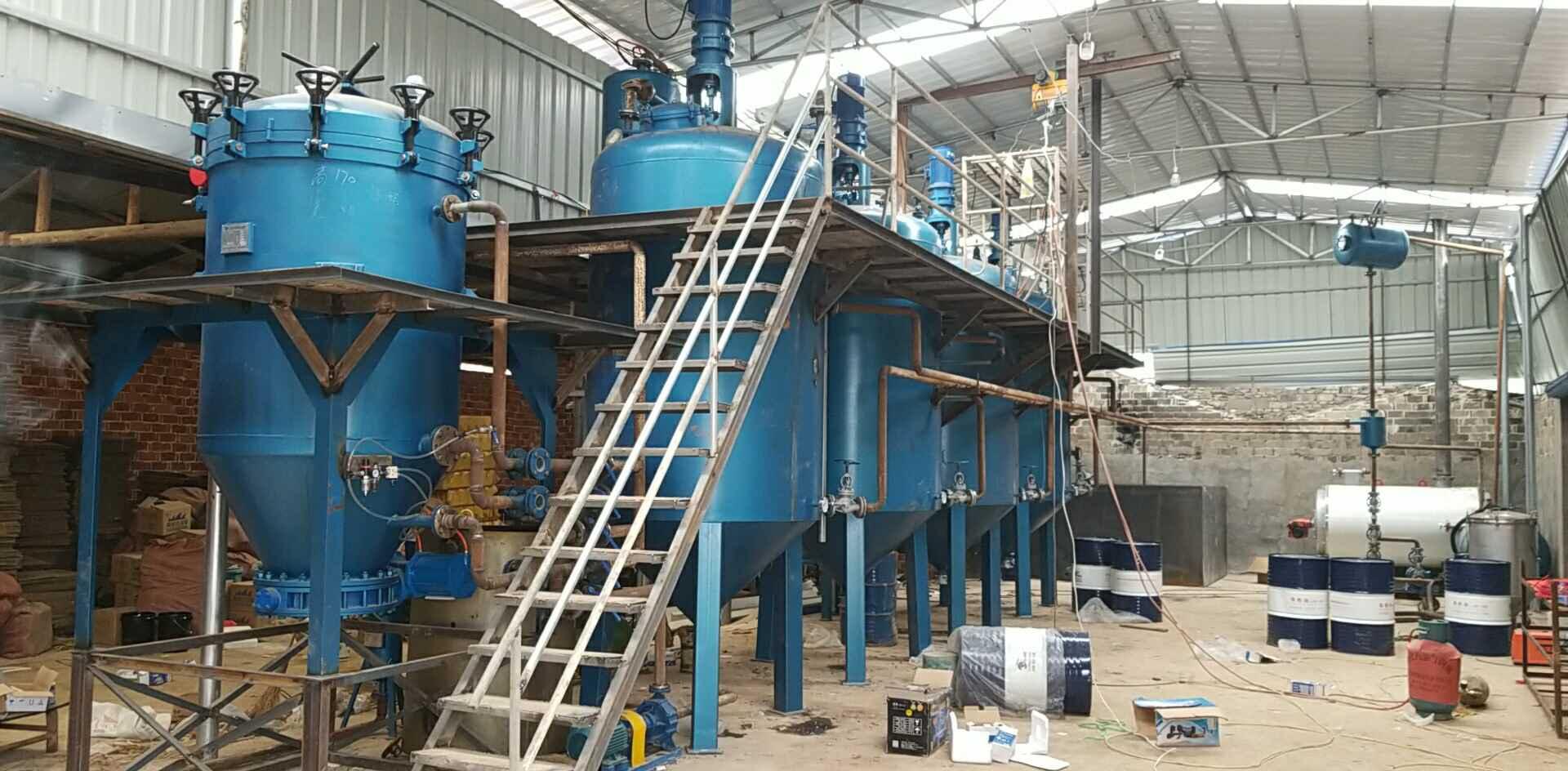 免蒸餾免酸堿無污染廢機油提煉設備
