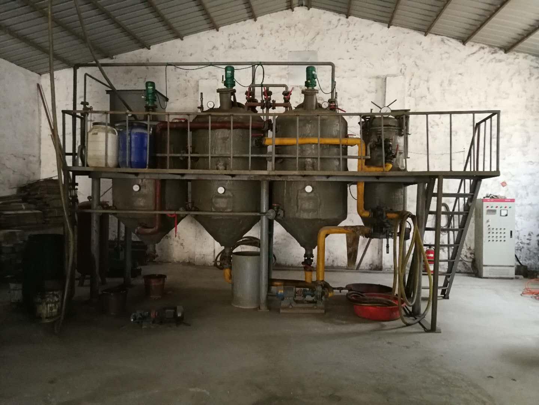 免蒸餾免酸堿自動排渣廢機油過濾設備