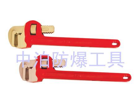 河北中奧防爆供應防爆管鉗子,美式管鉗子,斜管鉗,彎管鉗,六角直管鉗,快抓管鉗