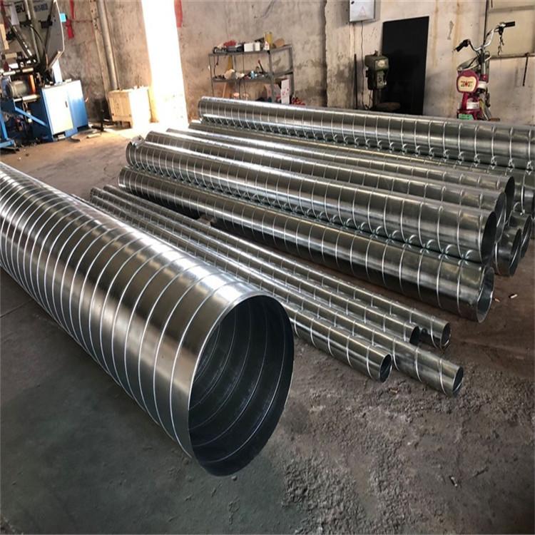 鍍鋅通風管 除塵螺旋風管 佛山市南海區通暢通風設備加工廠家