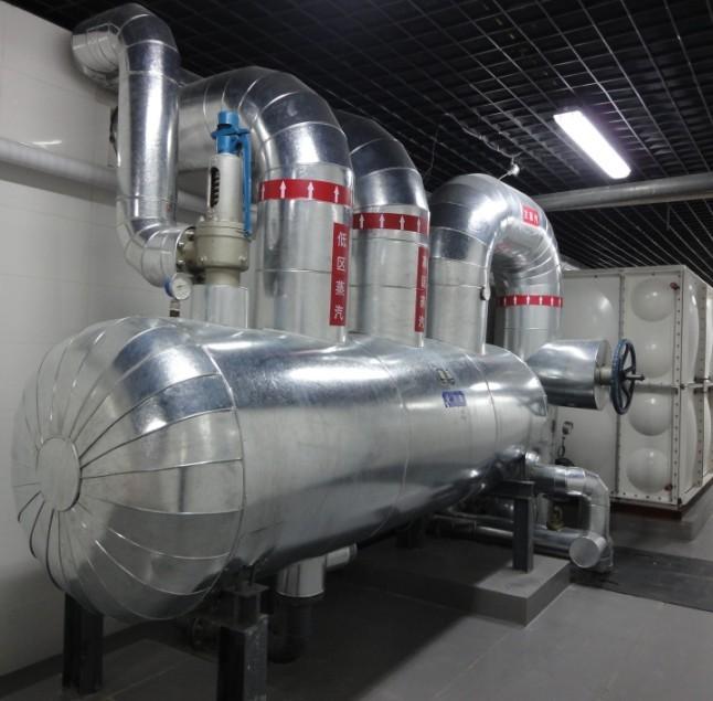 设备蒸汽管道保温工程泵房白铁皮防腐保温承包